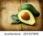 Avocado. Organic Avocados With...