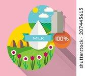 organic farm. natural milk....
