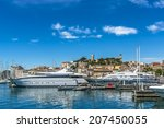 view of le suquet  or mont... | Shutterstock . vector #207450055
