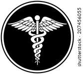 caduceus insignia