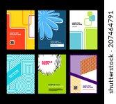 brochure design.   Shutterstock .eps vector #207464791