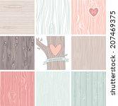 woodgrain  wooden texture...   Shutterstock .eps vector #207469375