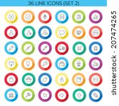line icons for web and mobile....