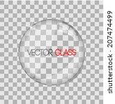 glass lens vector illustration | Shutterstock .eps vector #207474499