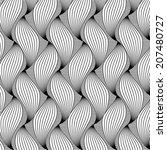 vector  pattern. modern stylish ... | Shutterstock .eps vector #207480727