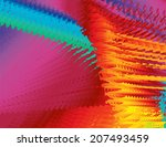 abstract spectrum background...