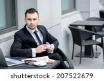waiting for the client.... | Shutterstock . vector #207522679
