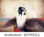 Woman Portrait  .abstract ...