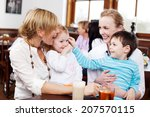 two happy playful small... | Shutterstock . vector #207570115