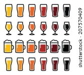 Beer Glasses Different Types...