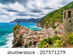 beautiful view of vernazza  one ...   Shutterstock . vector #207571279