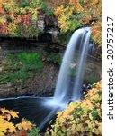 minnehaha fall in minneapolis   Shutterstock . vector #20757217