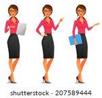 cartoon illustration of a... | Shutterstock .eps vector #207589444