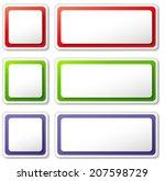 vector illustration of various... | Shutterstock .eps vector #207598729