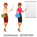 cartoon illustration of a...   Shutterstock .eps vector #207607384