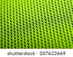 Green Background. Mesh Fabric...
