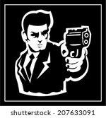 shooter | Shutterstock .eps vector #207633091