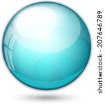 vector ball illustration | Shutterstock .eps vector #207646789
