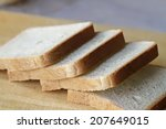 slices of bread | Shutterstock . vector #207649015
