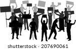 manifestation | Shutterstock .eps vector #207690061