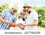 a picture of a group of... | Shutterstock . vector #207706339