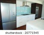 modern designer kitchen | Shutterstock . vector #20771545