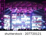 vector stage spotlight with... | Shutterstock . vector #207720121