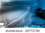 digital illustration of globe... | Shutterstock . vector #20772730