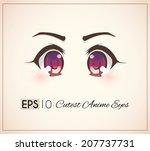 cutest anime eyes.