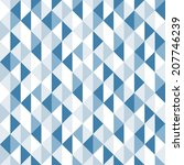 geometric triangles background. ... | Shutterstock .eps vector #207746239