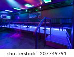 Interior Of A Empty Nightclub