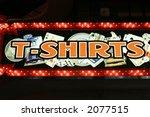 t shirts neon lights | Shutterstock . vector #2077515