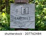 Campsites Sign