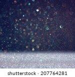 glitter vintage lights... | Shutterstock . vector #207764281