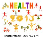 healthy eating. little funny...   Shutterstock . vector #207769174