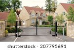 driveway and entrance of an... | Shutterstock . vector #207795691