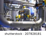 chemical factory | Shutterstock . vector #207828181