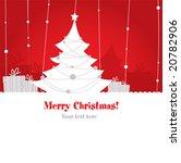 cute christmas design. vector   Shutterstock .eps vector #20782906