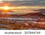 norway in winter. | Shutterstock . vector #207846769