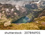 aerial view on stunning... | Shutterstock . vector #207846931