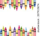 horizontal seamless background...   Shutterstock .eps vector #207915874