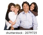 latin american family over a... | Shutterstock . vector #2079725