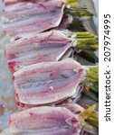 fish trade   clean and open... | Shutterstock . vector #207974995