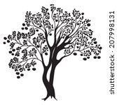 hand drawn illustration of... | Shutterstock .eps vector #207998131