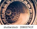 retired jet engine | Shutterstock . vector #208037419