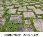 Brick With Grass