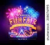Vintage Funfair And Circus Par...