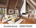 modern living room | Shutterstock . vector #208078285