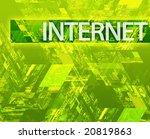 data internet abstract... | Shutterstock . vector #20819863