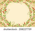 background illustration... | Shutterstock .eps vector #208227739
